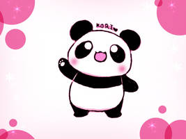 random panda by KoriArredondo