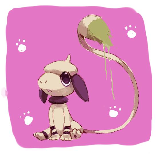 smeargle doodle by kori7hatsumine