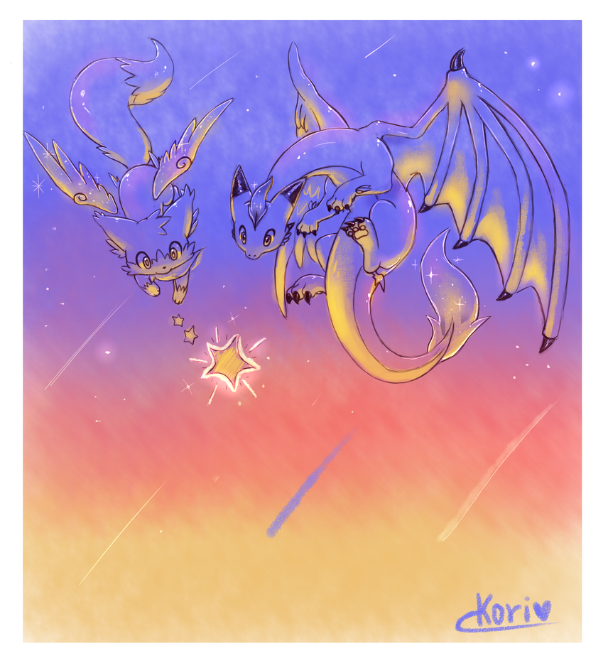 :gift: Shooting stars by KoriArredondo