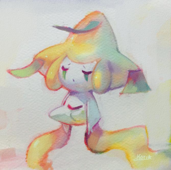 Jirachi Doodle by KoriArredondo