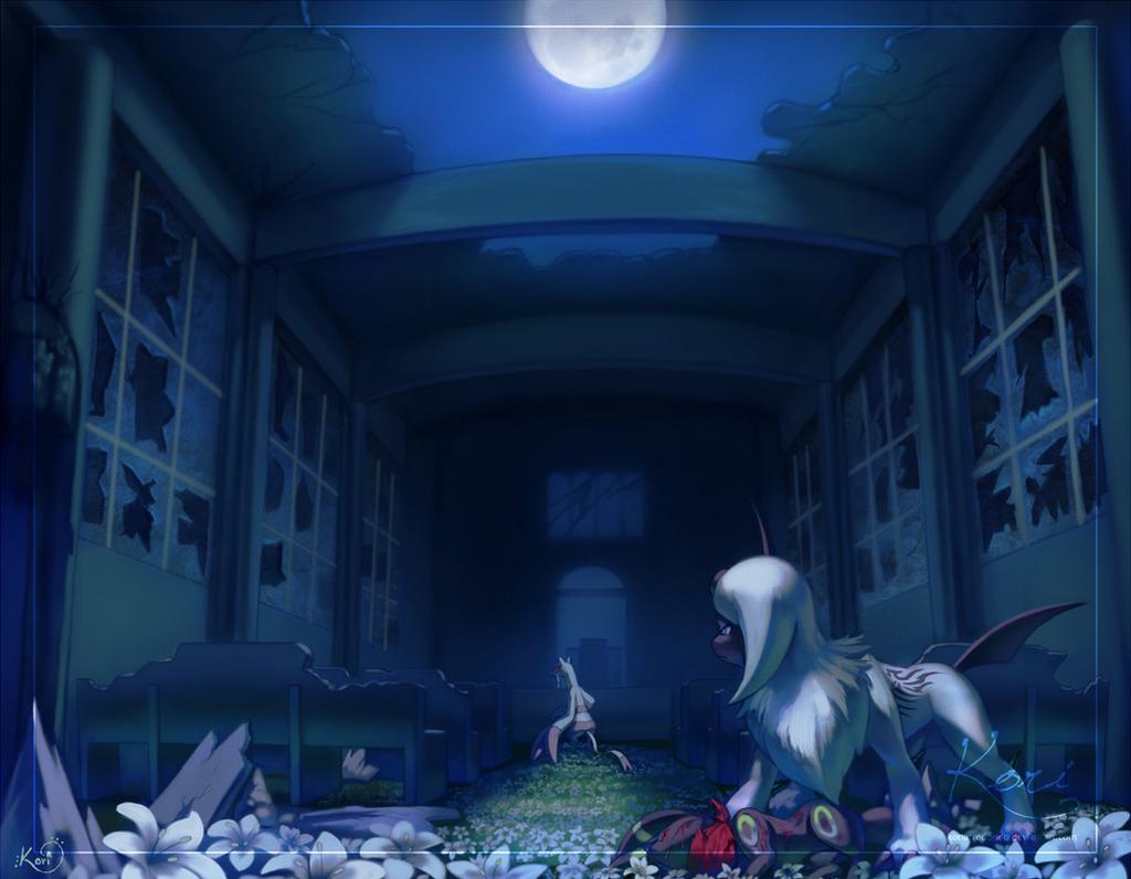 Marvelous ... Duel In The Moonlit Garden By KoriArredondo