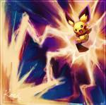 :C: Pichu used thunderbolt