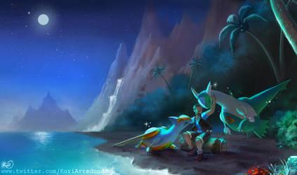 Shining Moonlight by KoriArredondo