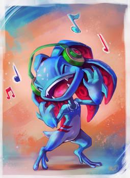 Jamming to my music