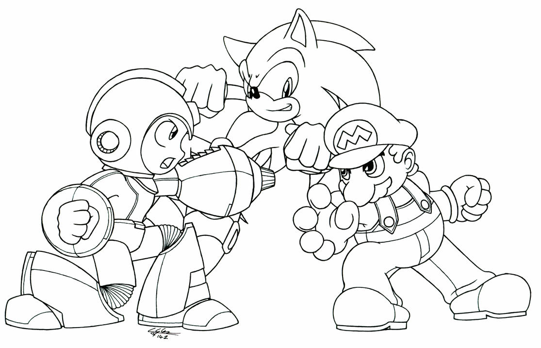 mario coloring pages to print
