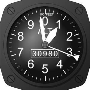 Javascript Altimeter