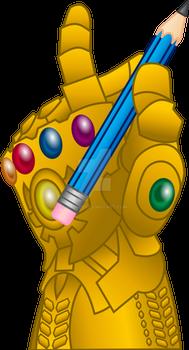 Infinity Drawing Gauntlet