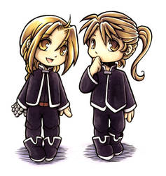 FMA - The little Elrics