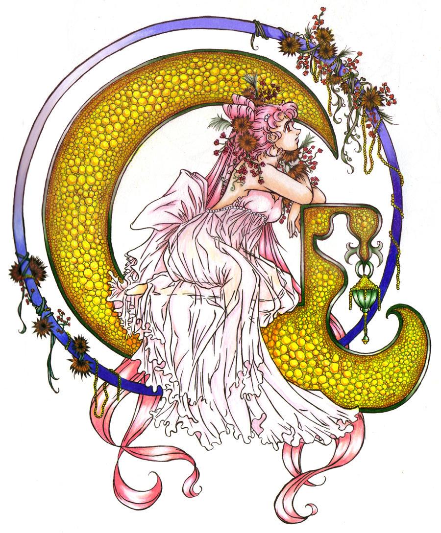 Princess Lady Serenity by kishokahime