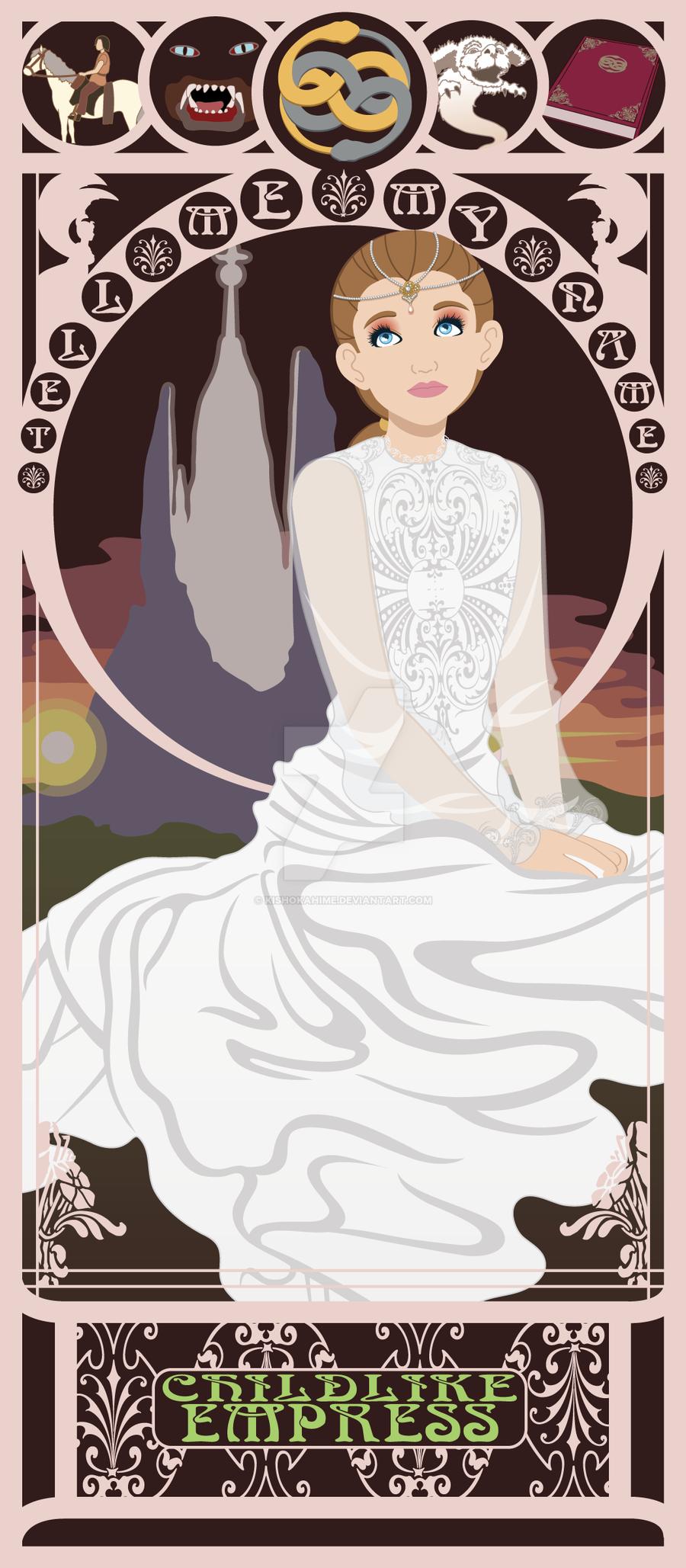 Childlike Empress Nouveau by kishokahime