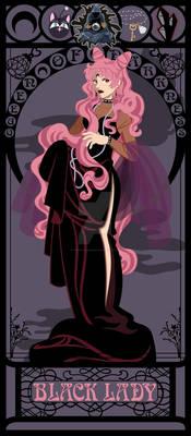 Black Lady Nouveau