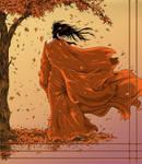 Beneath the autumn trees