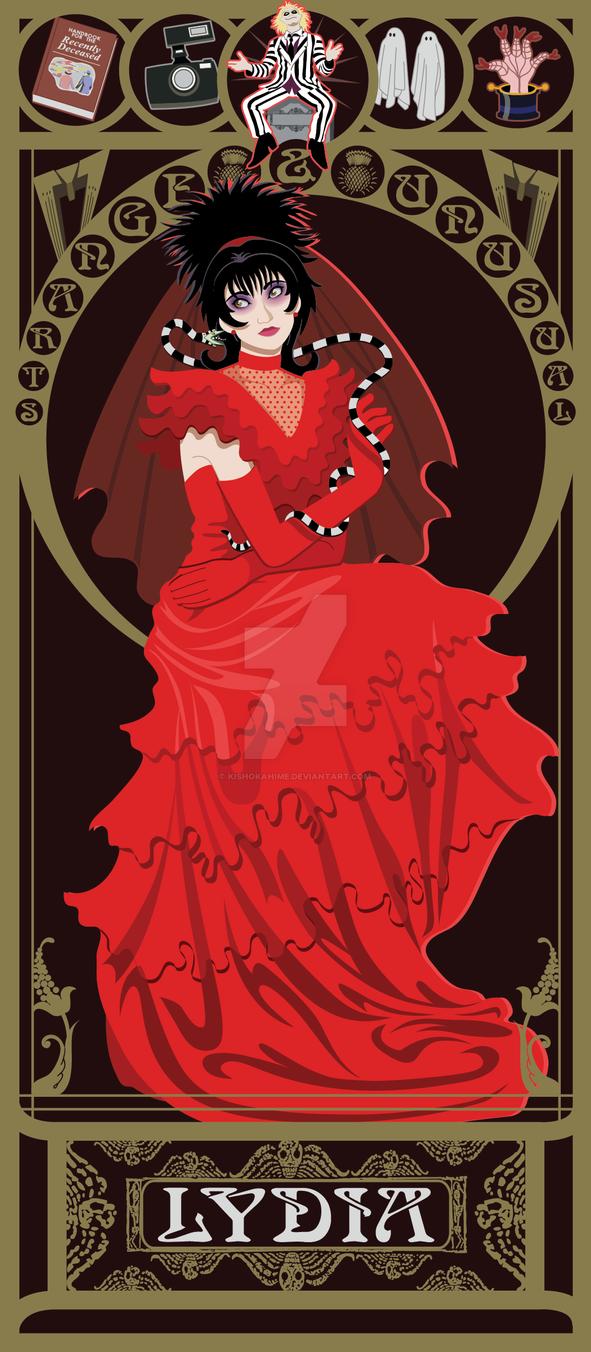 Lydia Nouveau by kishokahime