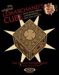 Lemarchand's Cube - Hellraiser by kishokahime