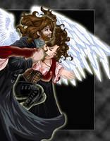 Anna and her Angel by kishokahime