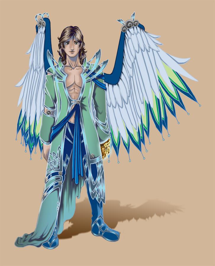 Archangel Raphael By Kishokahime On Deviantart