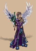 Archangel Raziel by kishokahime