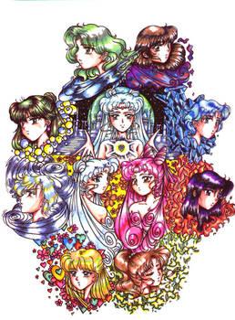 Random Sailormoon group