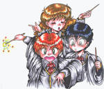 Harry potter chibi kids