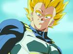 Dragon Ball Z Super Saiyan Vegeta