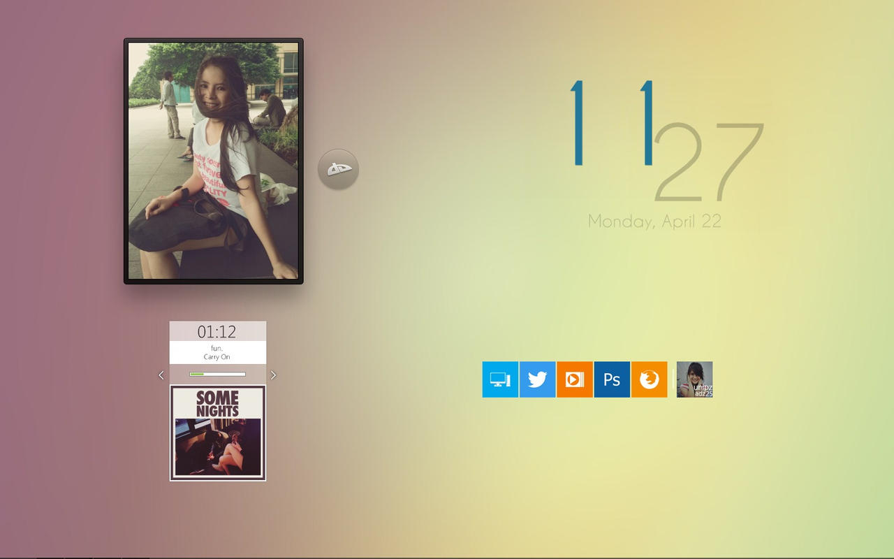 My Desktop Of This Month by unipzadz