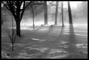 Horizontal Snow by KingsRansom