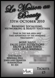 Beauty Event Flyer by BlueBearGFX