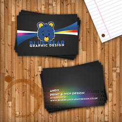 Blue Bear Business Card by BlueBearGFX