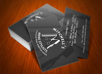 Business Card Design by BlueBearGFX