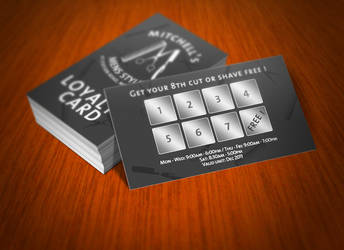 Loyalty Card by BlueBearGFX
