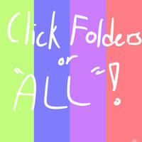 Click Folders or ALL!