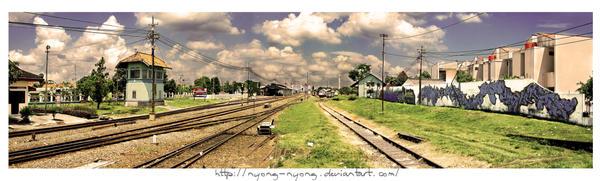 Lempuyangan Station by NyOng-NyoNg