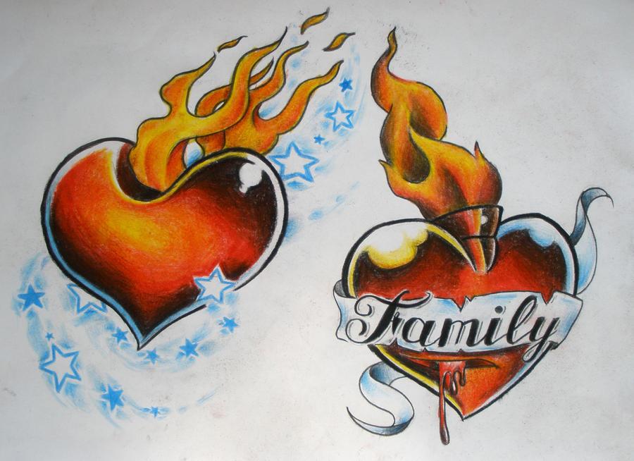 Flash - hearts by surgun99