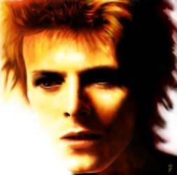 David Bowie Digital Painting by kApZ-17