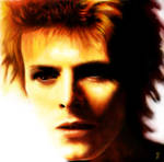 David Bowie Digital Painting