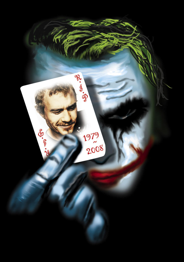 Heath ledger by jvgce on deviantart