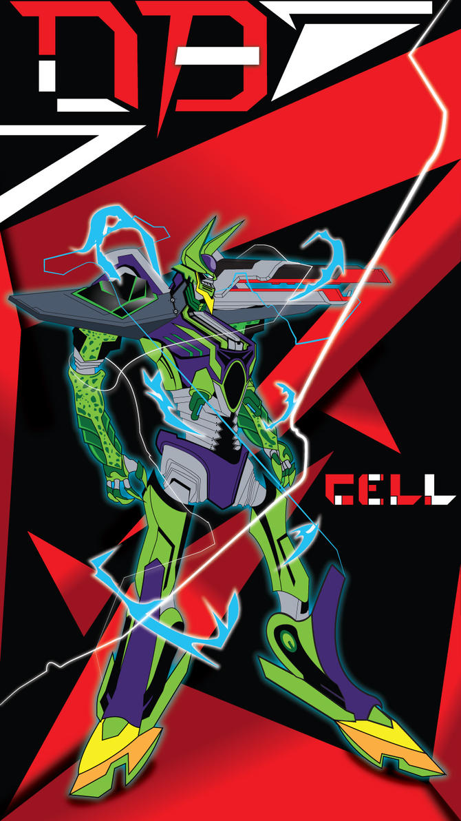 DBZ Cell MECH by jvgce