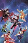 New Power Rangers Team