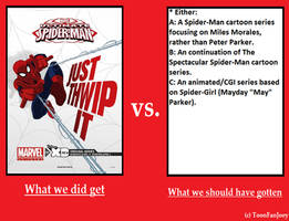 What Should Have Been: Ultimate Spider-Man