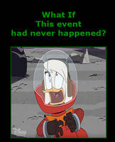 What if Della Duck never landed on the moon?