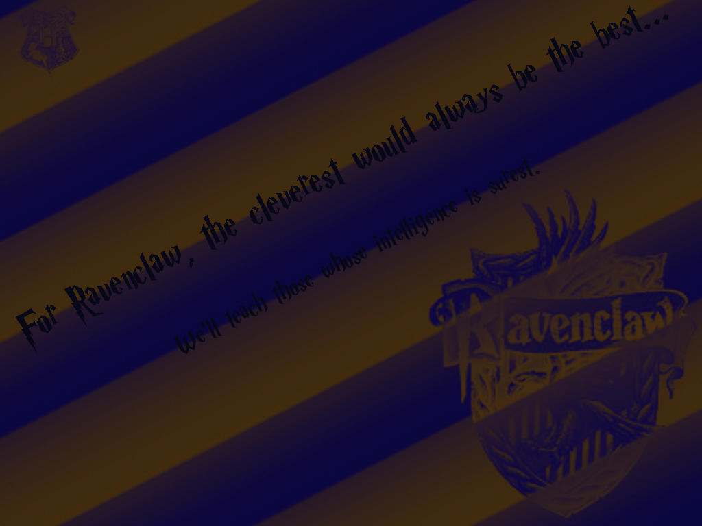 HP Wallpaper - Ravenclaw by khatt on DeviantArt