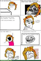 Mah rage comic by WarriorCheetah