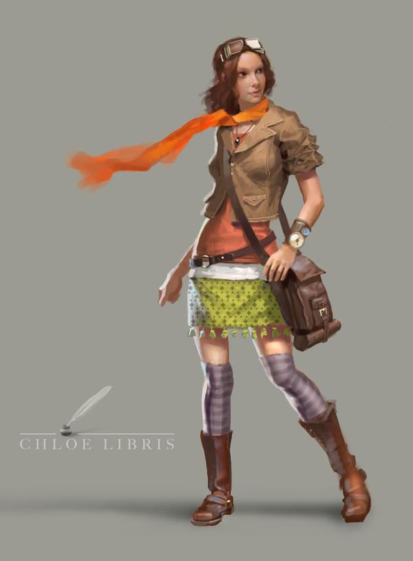 Chloe Libris by ClintCearley