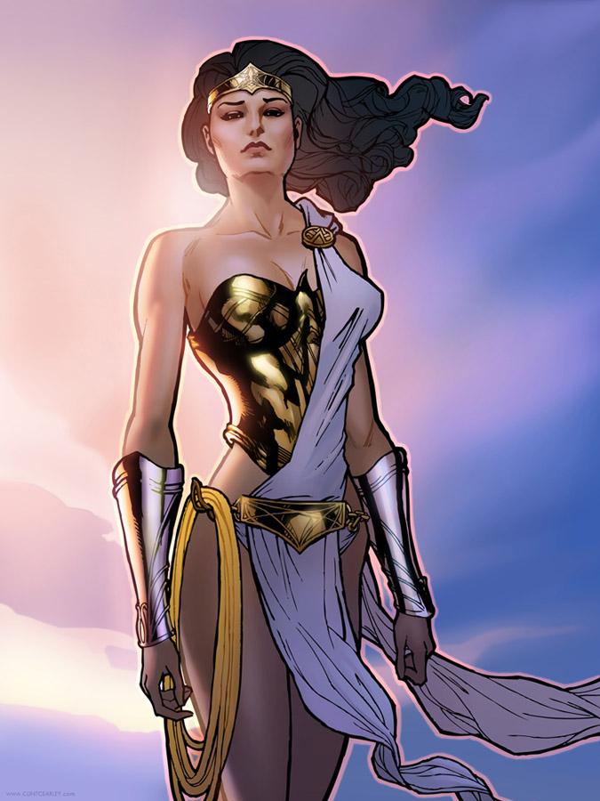 Wonder Woman by ClintCearley