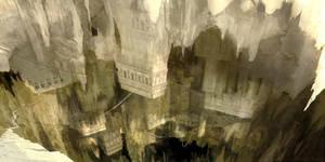 Sinkhole City - Speedpaint by ClintCearley