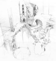 Cavern Bridge sketch by ClintCearley