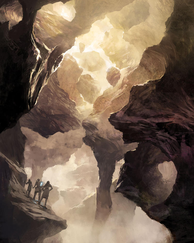 Mobius Cave by ClintCearley