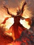 Priest of Urabrask - MTG by ClintCearley