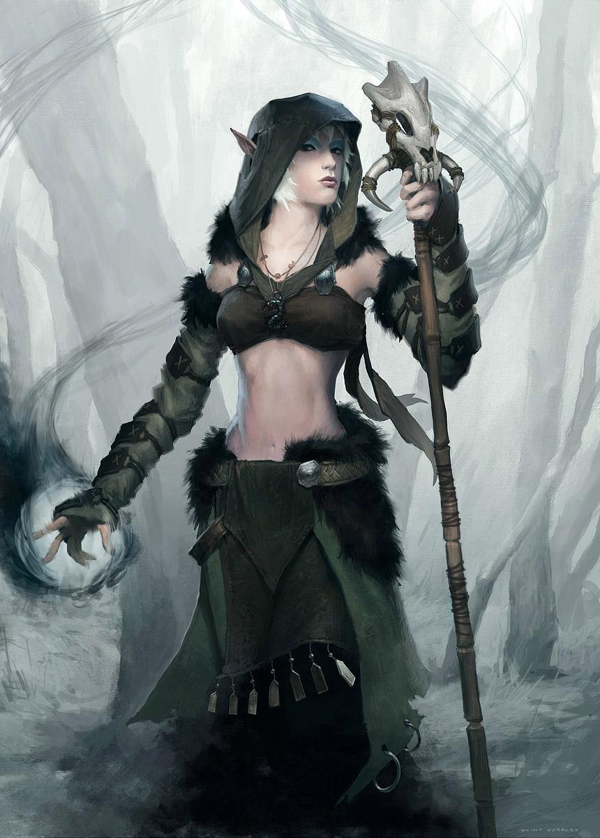 Druid by ClintCearley