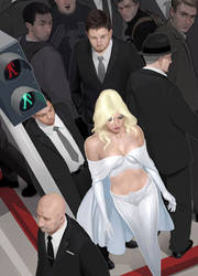 Emma Frost by ClintCearley